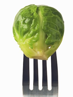 Brussel sprout fork dailymail image
